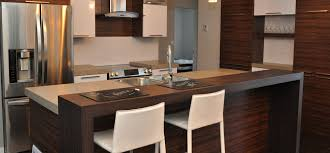 cuisine avec comptoir comptoir de cuisine contemporain meilleur de cuisine contemporaine