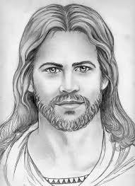 pencil drawings of jesus face u2013 images free download