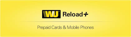 reload prepaid card online reload your western union prepaid card or mobile phone