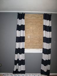 White And Navy Striped Curtains Navy Stripe Curtains And White Striped Shower Rugby Curtain Blue