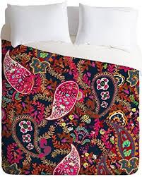 great deal on deny designs rachelle roberts boho paisley duvet