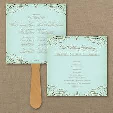 Rustic Wedding Program Fans 43 Best Wedding Program Fans And Ideas Images On Pinterest Fan