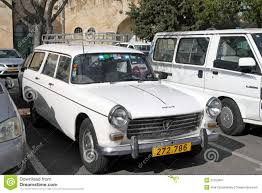vintage peugeot cars peugeot 404 car at the city parking editorial photography image