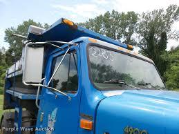 2001 international 4900 dump truck item k1862 sold augu
