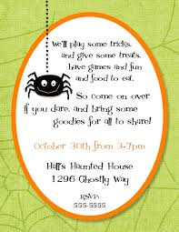 halloween themed birthday party invitations