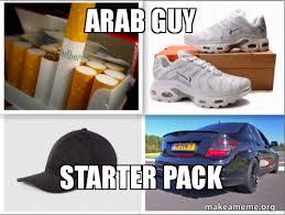 Arab Guy Meme - arab guy starter pack make a meme