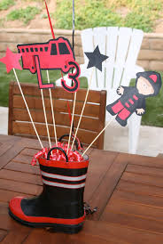 76 best cakes fire truck flames and hoses images on pinterest