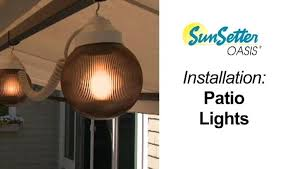Sunsetter Patio Awning Lights Sunsetter Patio Awning Lights Disk Oasis Oasis Motorized Oasis