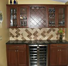 kitchen cabinets installation remodeling company syracuse cny the homeowners are delighted with the wine bar that replaced an underutilized desk counter area