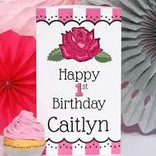 ballerina 1st birthday personalized photo centerpiece