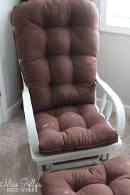glider and ottoman cushions 327 best chair cushion fabric options images on pinterest