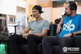 jeremy lin casts a dota 2 game at the summit the flying courier