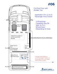Conversion Van Floor Plans Ford Wheelchair Van Conversions Ams Vans