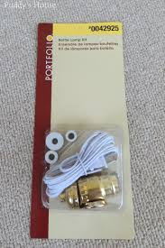 decor remarkable lamp kit lowes and tricks how to rewire a lamp