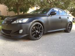 My Matte Black Is 350 Lexus Is Forum