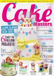 Cake Decorating Magazine Issues Modelling Issue Out Now Cake Masters Magazine
