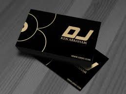 Dj Visiting Card Design Download