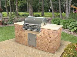 How To Build A Outdoor Kitchen Island by Outdoor Living Gallery Kings Building Material