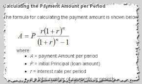 loan formulas amortization calculation formula and payment calculator