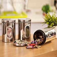 buy kitchen canisters small jars for kitchen storage buy pcs stainless steel food