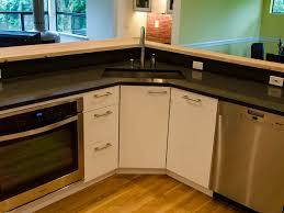 Kitchen Cabinet  Kitchen Alluring Small L Shape Kitchen - Kitchen sink units ikea