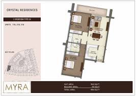 floor plans crystal residences jumeirah village circle by myra