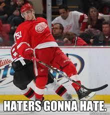 Red Wings Meme - redwings memes red wings haters gonna hate detroit pride