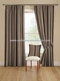 Pewter Curtains Montgomery Armani Curtain Fabric In Colour 38 Pewter
