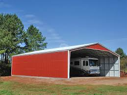 Garage With Carport Choose The Best Rv Carport For Your Recreational Vehicle At