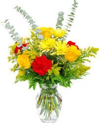 funeral floral arrangements glass vase floral arrangement 6 san jose funeral home