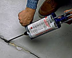 Fix Basement Floor Cracks by Tutorial To Fill And Patch Holes And Cracks In Concrete Floor