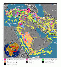 middle east earthquake zone map gsa 1 large gif
