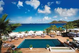 St Barts Island Map by