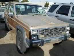 1989 jeep wagoneer limited 1989 jeep wagoneer limited photos salvage car auction copart usa