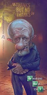 Mike Breaking Bad 75 Best Caricatures Anthony Geoffroy Images On Pinterest