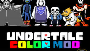 undertale colored sprite mod debug mode blakegulick