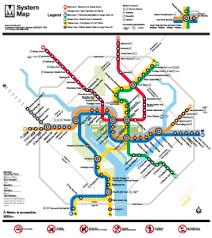 washington subway map washington d c wheelchair accessible transportation