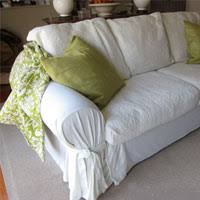 Making Slipcovers For Sofas How To Make A Sofa Slipcover Easy Okaycreations Net