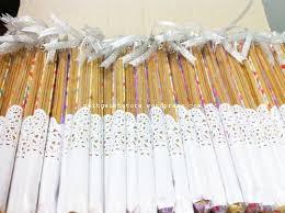 souvenir for wedding tempat pencil medium pouch dhimas intan wedding favors