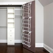Ideas For Wall Mounted Tie Rack Design 40 Door Tie Rack Gunmetal 36 Pair The Door Shoe Rack