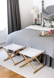 Camp Bedroom Set Pottery Barn Seven Ideas To Decorate The Foot Of Your Bed Kelley Nan