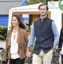 pippa middleton strolls through irish village with husband daily