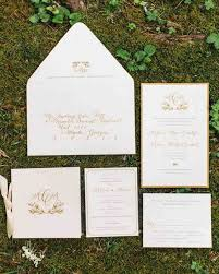 wedding invitations gold and white classic wedding invitations for traditional brides and grooms