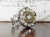 bullet wedding rings this striking vintage inspired bullet ring features a 38 special