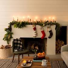 36 modern farmhouse fireplace christmas decoration ideas round decor