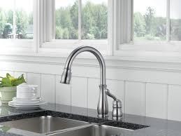 delta leland pull kitchen faucet 978 ar dst single handle pull kitchen faucet