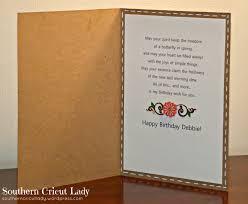 Halloween Birthday Card Sayings by Birthday Card Southern Cricut Lady