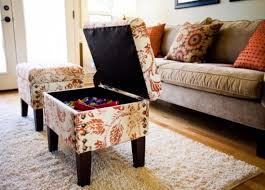 Diy Storage Ottoman Coffee Table Awesome Living Room Ottoman With Storage Leather Ottoman Coffee