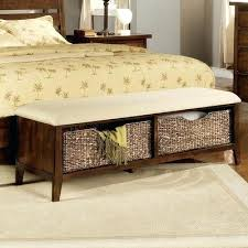 bed bench with storage attractive storage bench foot of bed best