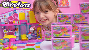 Toy Kitchen Set For Boys Shopkins Season 3 4 Shopkin Toys Unboxing U0026 Surprise Blind Bags